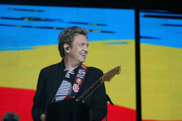 "Andy Summers performs in the reunion tour of ""The Police"""