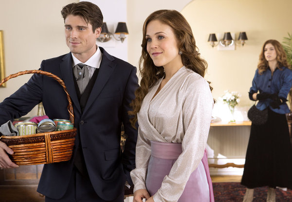 WHEN CALLS THE HEART - HEART AND SOUL  Elizabeth and Jack remain worlds apart and Abigail finds out the devastating truth about Bill Avery.     Photo: Marcus Rosner, Erin Krakow  Credit: Copyright 2015 Crown Media United States, LLC/Photographer: Eike Schroter