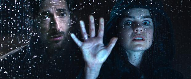 "Adrien Brody and Chloe Bayliss in ""Backtrack"""