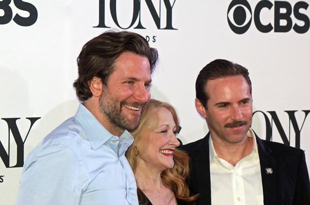 "Bradley Cooper, Patricia Clarkson, and Alessandro Nivola will take their production of ""The Elephant Man"" to London | Melanie Votaw Photo"