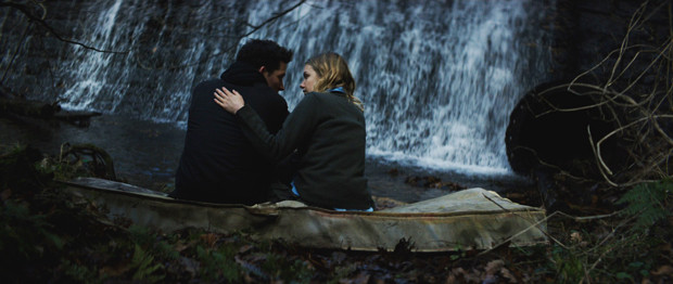 "Hannah Murray and Josh O'Connor in ""Bridgend"""