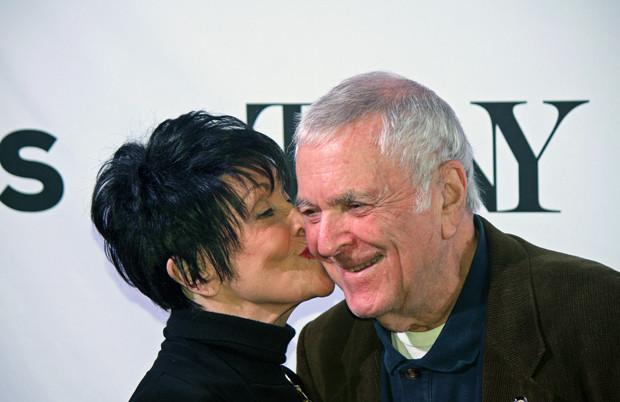 "Chita Rivera and composer John Kander of ""The Visit"" | Melanie Votaw Photo"
