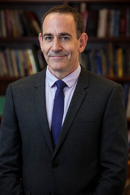 Timothy Naftali, Watergate historian | Mathieu Asselin, NYU Libraries Photo