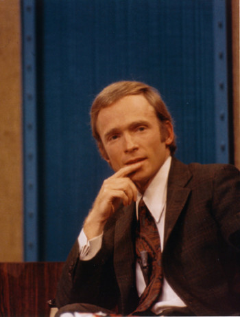 "Dick Cavett on ""The Dick Cavett Show"""