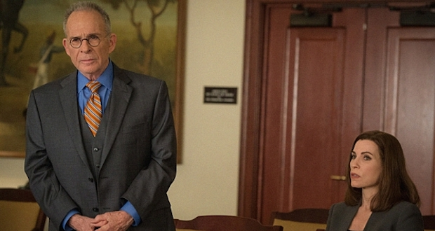 Ron Rifkin guests on The Good Wife