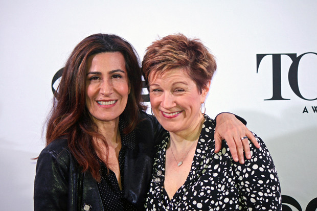 "Composer and lyricist of ""Fun Home"" Jeanine Tesori and Lisa Kron 