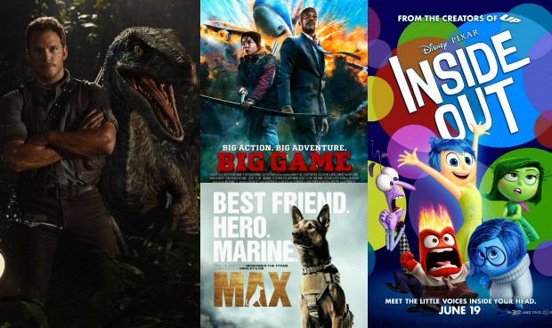 June 2015 Movies Collage