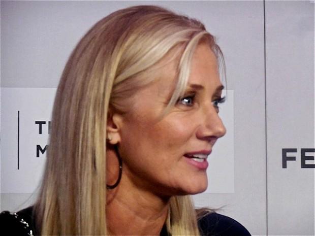 "Joely Richardson at Tribeca Film Festival screening of ""Maggie"" | Paula Schwartz Photo"