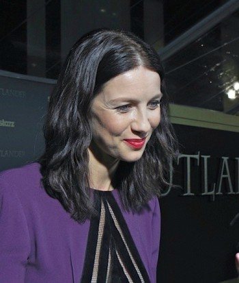 "Caitriona Balfe at the ""Outlander"" midseason premiere in Manhattan | Paula Schwartz Photo"