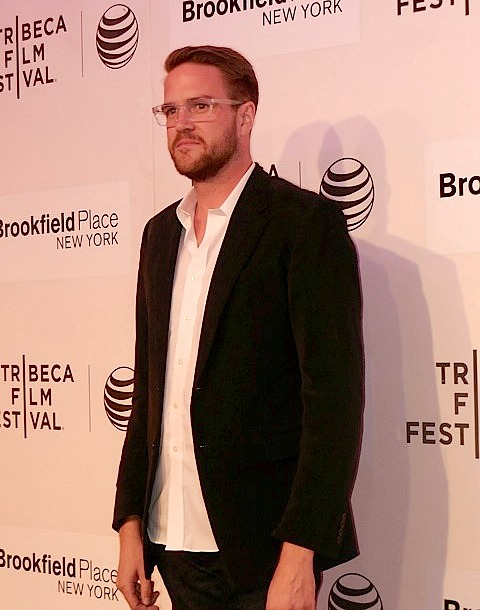 "Director Patrick Brice at Tribeca Film Festival screening of ""The Overnight"" 