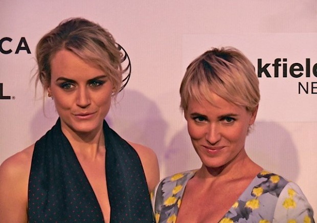 "Taylor Schilling and Judith Godreche at Tribeca Film Festival screening of ""The Overnight"" 