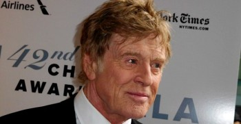 Robert Redford, recipient of the Film Society of Lincoln Center's 42nd Chaplin Award on April 27, 2015 | Paula Schwartz Photo