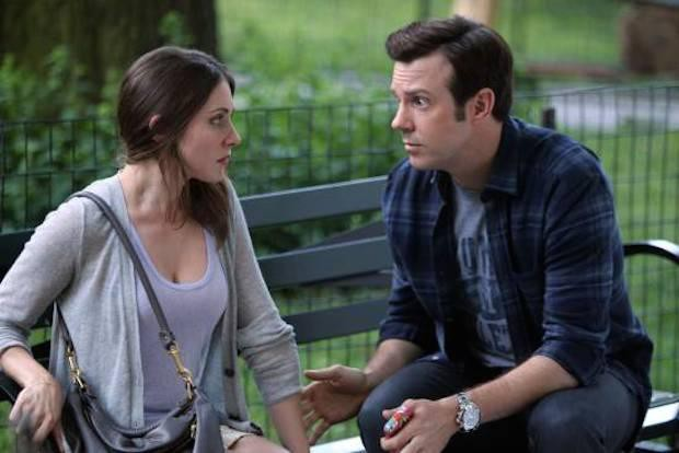 "Alison Brie and Jason Sudeikis in ""Sleeping With Other People"""