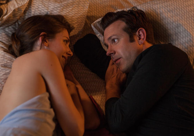 "Alison Brie and Jason Sudeikis in the most touching scene in ""Sleeping With Other People"""