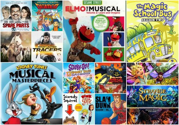 12 DVDs KIDS TEENS May 19 2015