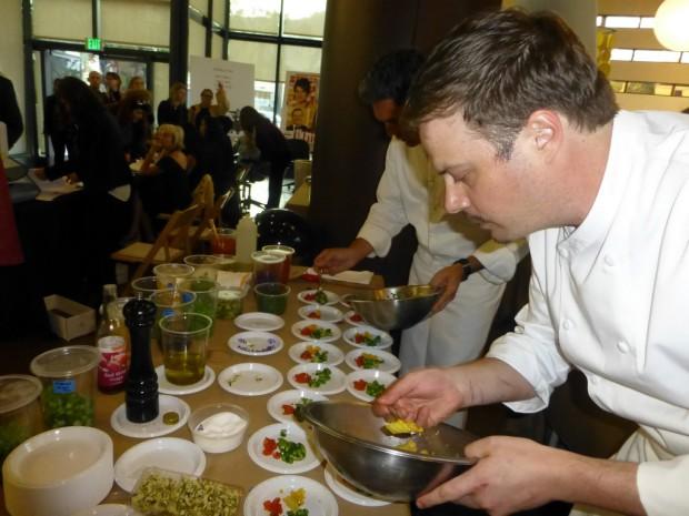 Chefs at COLCOA 2015 | Barbara Singer Photo
