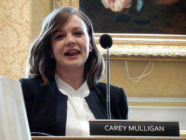 "Carey Mulligan at a press junket for ""Far From the Madding Crowd""   Hosoki Nobuhiro Photo"