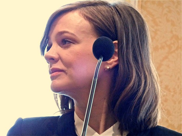 """Carey Mulligan at a press junket for """"Far From the Madding Crowd""""   Paula Schwartz Photo"""