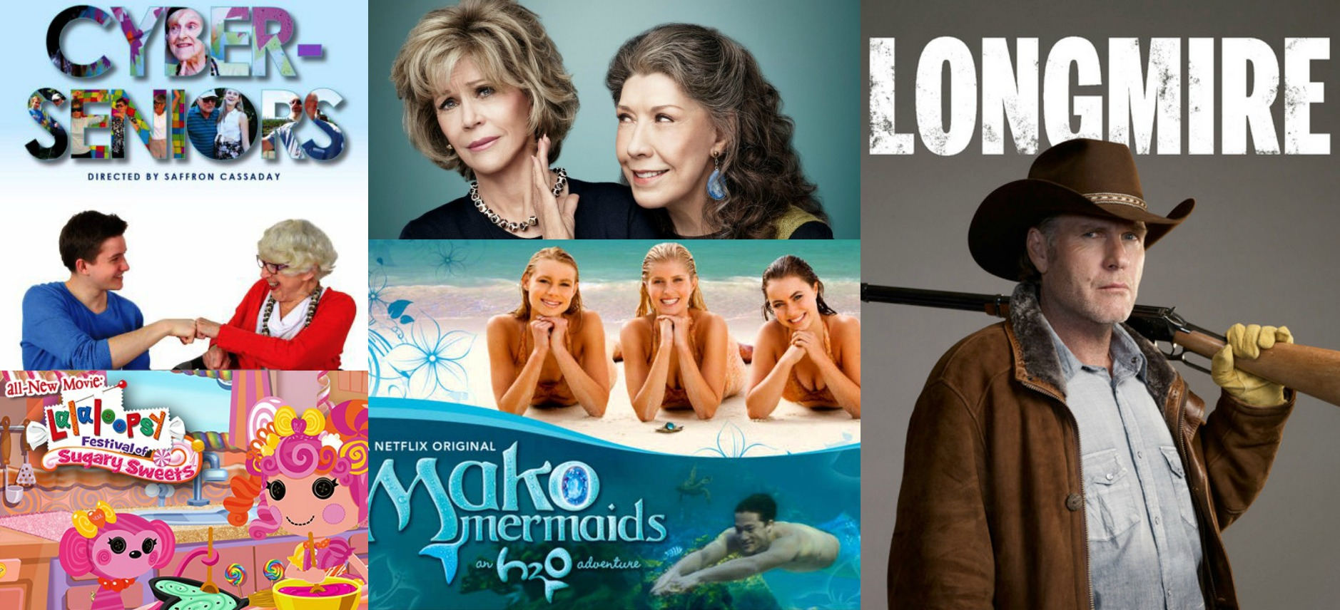 New On Netflix May 2015 Longmire Mako Mermaids