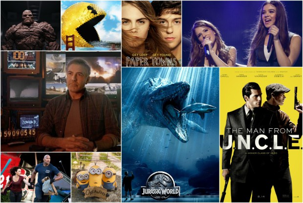 Summer Blockbusters 2015 Collage