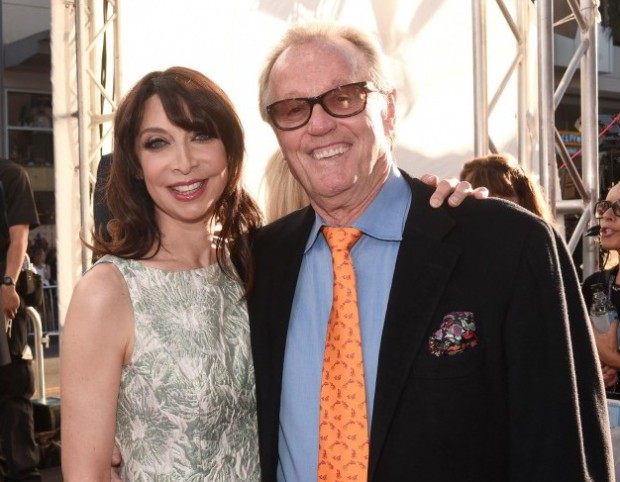 Illeana Douglas and Peter Fonda at the 2015 TCM Classic Film Festival | TCM Photo