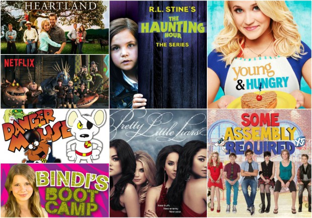 June 2015 Netflix KIDS TEENS Collage