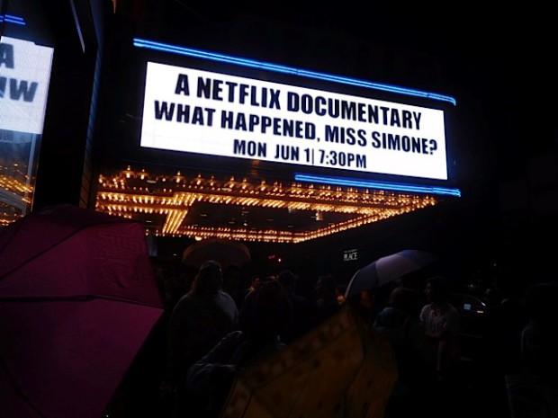 "NY Premiere of Nina Simone Documentary, ""What Happened, Miss Simone?""   Paula Schwartz Photo"