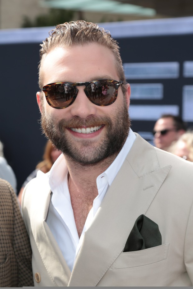 """Jai Courtney arrives as Paramount Pictures presents the Los Angeles premiere of """"Terminator Genisys"""" at the Dolby Theatre in Los Angeles, California on Sunday, June 28, 2015. (Photo: Alex J. Berliner/ABImages)"""