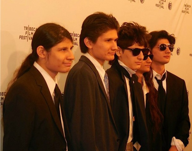"""The Brothers Angulo at the NY premiere of """"The Wolfpack"""" 