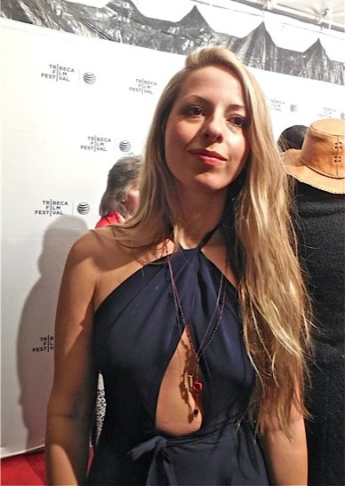 """Director Crystal Mozelle at the NY premiere of """"The Wolfpack"""" 