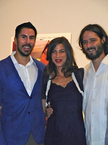 David Verdaguer, Natalia Tena and Carlos Marques-Marcet at the '10.000 km' premiere in NYC | Paula Schwartz Photo
