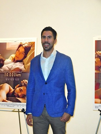 David Verdaguer at the '10.000 km' premiere in NYC | Paula Schwartz Photo