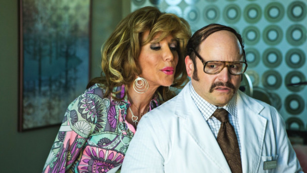 "Pamela Shaw and Jason Alexander in ""Lucky Stiff"""