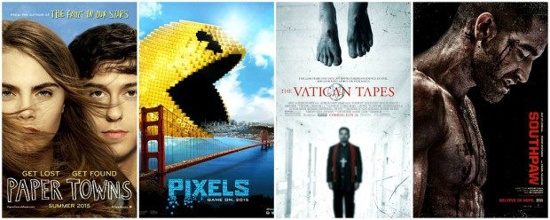 New Movies July 24 2015 Collage