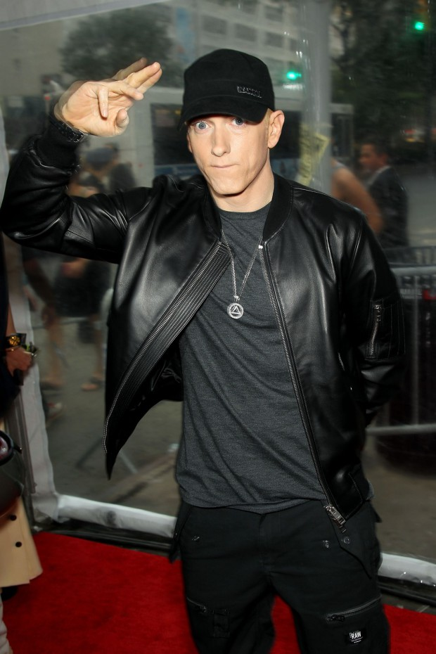 """New York Premiere of The Weinstein Company's """"SOUTHPAW"""" Presented by Chase Sapphire Preferred; PICTURED: Eminem 