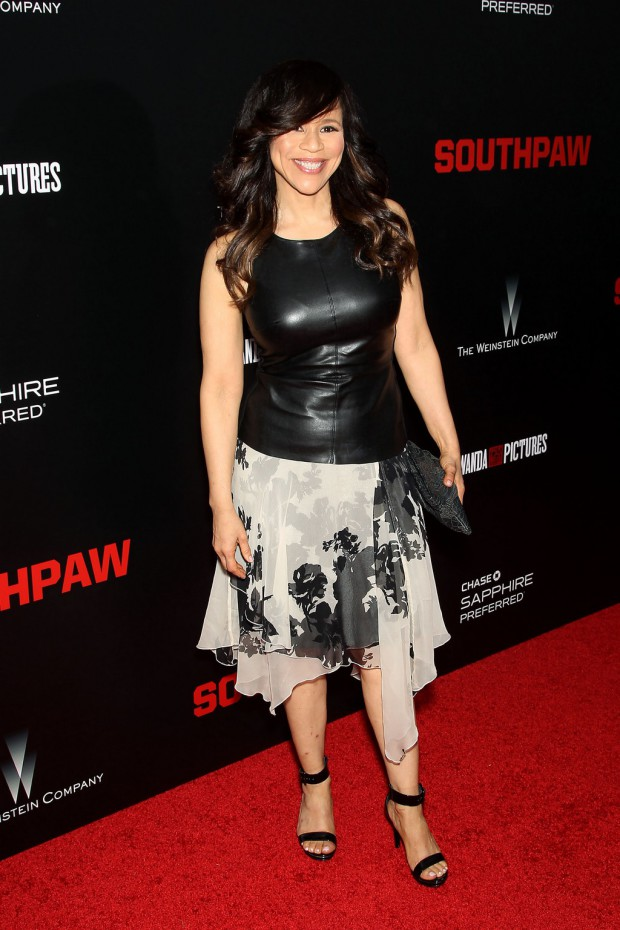 """New York Premiere of The Weinstein Company's """"SOUTHPAW"""" Presented by Chase Sapphire Preferred; PICTURED: Rosie Perez 