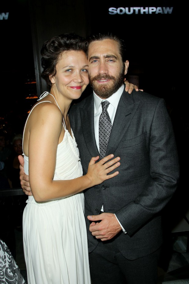 """New York Premiere of The Weinstein Company's """"SOUTHPAW"""" Presented by Chase Sapphire Preferred - After Party at 40/40 Club; PICTURED: Maggie Gyllenhaal, Jake Gyllenhaal 