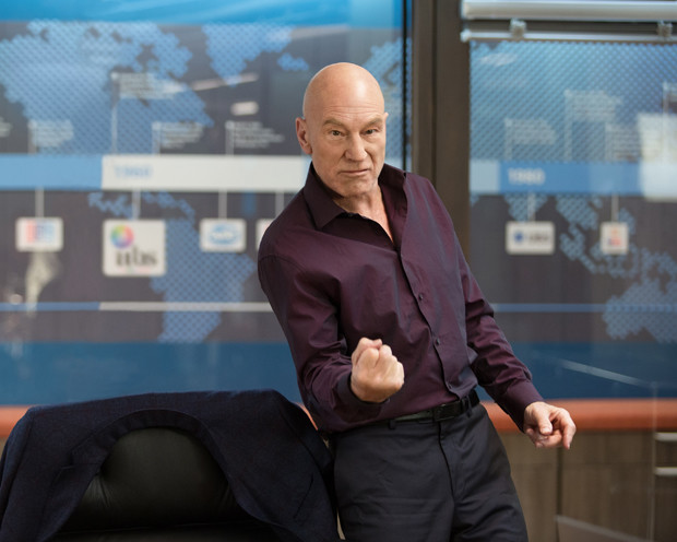 "Patrick Stewart as Walter Blunt in ""Blunt Talk"""