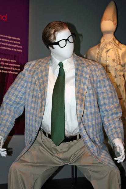 Chris Farley's Matt Foley costume | Melanie Votaw Photo
