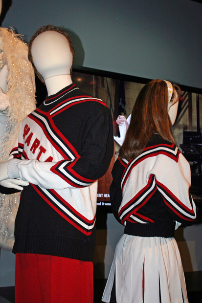 The cheerleader costumes worn by Will Ferrell and Cheri Oteri | Melanie Votaw Photo