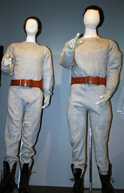 The Hans and Franz costumes worn by Dana Carvey and Kevin Nealon | Melanie Votaw Photo