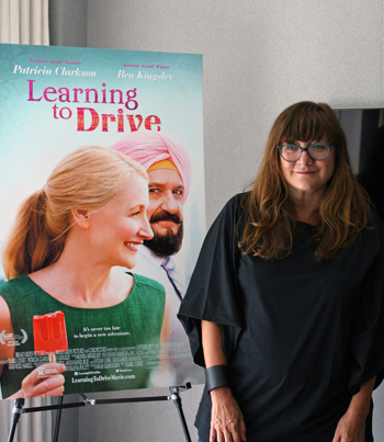 """Director Isabel Coixet in New York for interviews about """"Learning to Drive"""" 