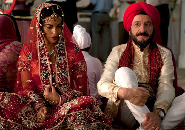"""Sarita Choudhury and Sir Ben Kingsley in """"Learning to Drive"""""""