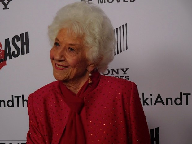 "Charlotte Rae attends the ""Ricki and the Flash"" premiere in NYC 