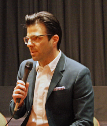 "Zachary Quinto talks about ""Hitman Agent 47""