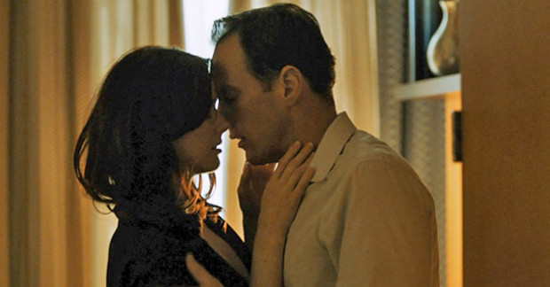 "Alexandra Breckenridge and Patrick Wilson in a still from ""Zipper"""
