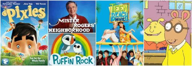 Sept 2015 Netflix KIDS