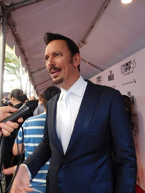 "Steve Valentine at the NYFF Premiere of ""The Walk"" 