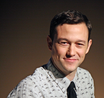 "Joseph Gordon-Levitt at the New York Film Festival press conference for ""The Walk"" 