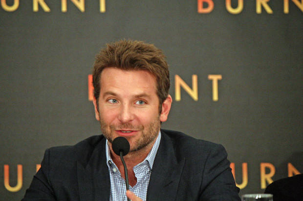 "Bradley Cooper at the NY press conference for ""Burnt"" 